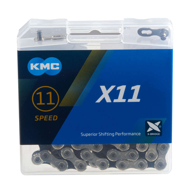 GEARING ROAD Cycling - KMC X11.93 11 Speed Bike Chain KMC - Bike Brakes and Transmission