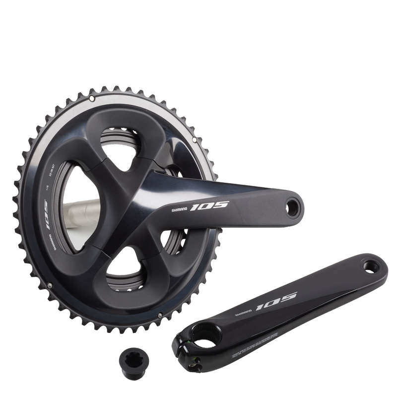 GEARING ROAD Cycling - 105 R70 52/36 Chainset WORKSHOP - Bike Brakes and Transmission