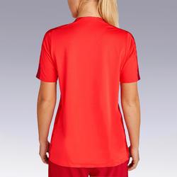 Maillot de football femme F900 rouge