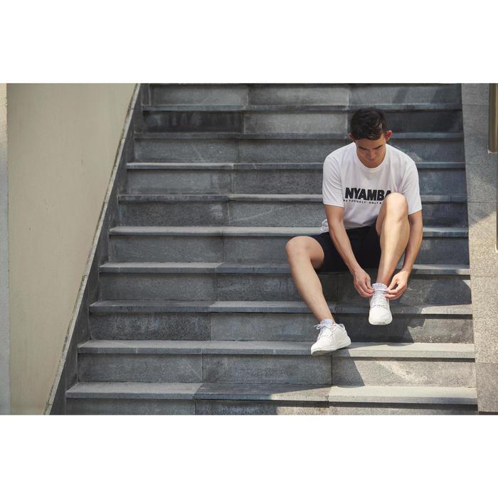 Damessneakers voor sportief wandelen Protect 140 wit