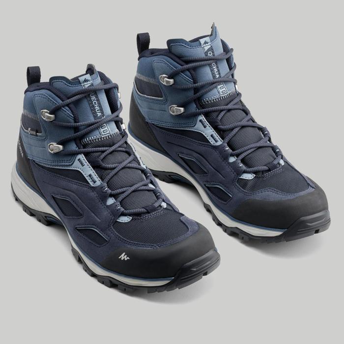 MH100 Men's Waterproof Walking Shoes - Blue