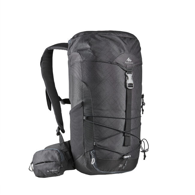 Hiking Backpack 20 Litre MH100 - Carbon Grey