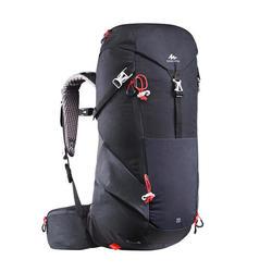 Wanderrucksack Bergwandern MH500 20Liter schwarz