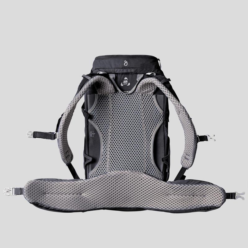 Mochila de senderismo montaña MH500 20L Negra