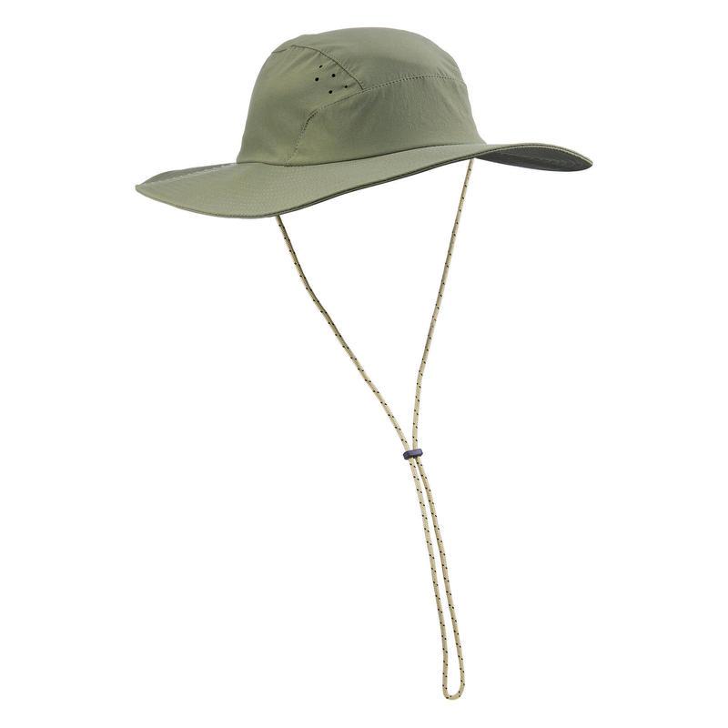 Men's anti-UV mountain trekking hat - TREK 500