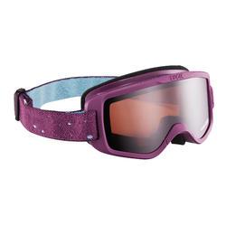 Masque de ski / luge 12 - 36 mois bébé tout temps violet catégorie 3