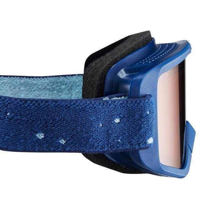 Masque de ski / luge bébé 12 - 36 mois tout temps bleu catégorie 3