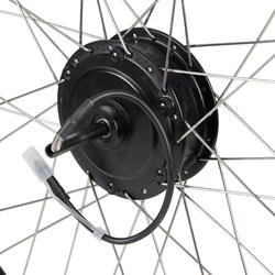 """Achterwiel voor elektrische hybridefiets 26"""" Original 24 V"""