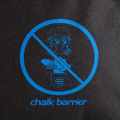 CHALK BAG CHALK-BARRIER SIZE L BLACK-BLUE