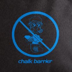 Magnesiumzak voor klimmen Chalk Barrier maat L zwart/blauw