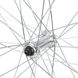 """ROUE VTC 28"""" Avant Simple paroi pour frein V-brake, attache QR, noire"""