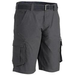 TRAVEL 100男款休閒短褲 - 灰色