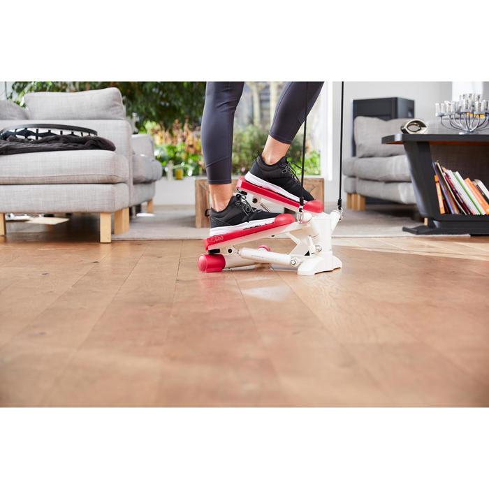 踏步機MS500 - 象牙白/粉色