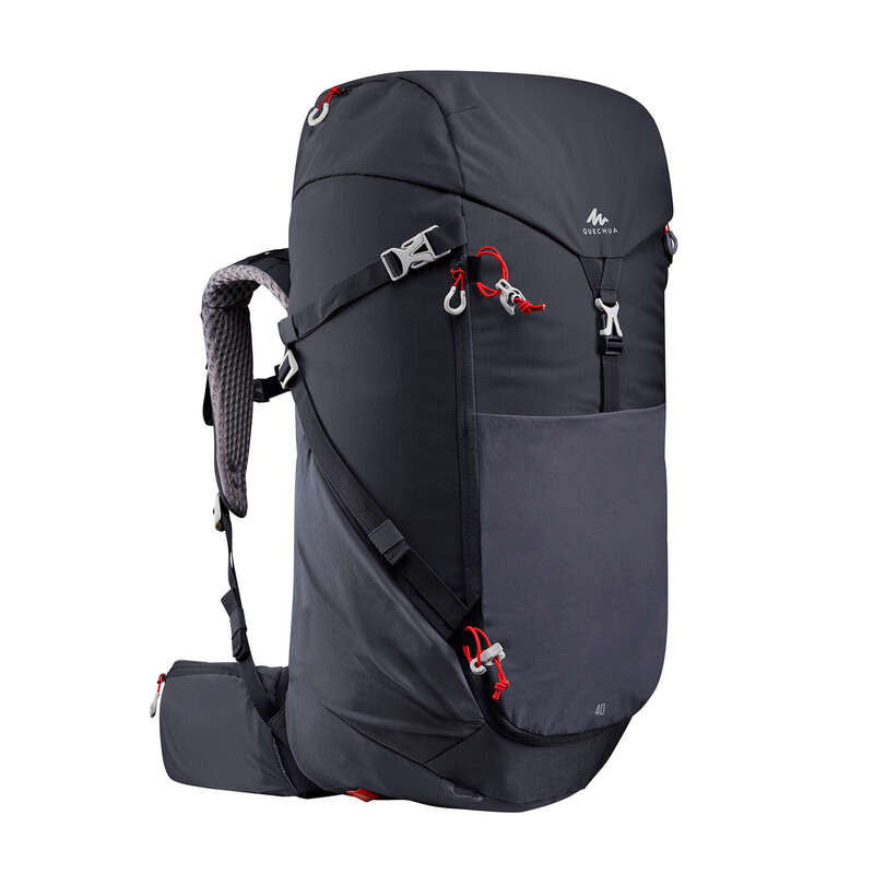 20L TO 40L MOUNTAIN HIKING BACKPACKS Hiking - Rucksack MH500 40L - Black QUECHUA - Hiking Backpacks and Bags