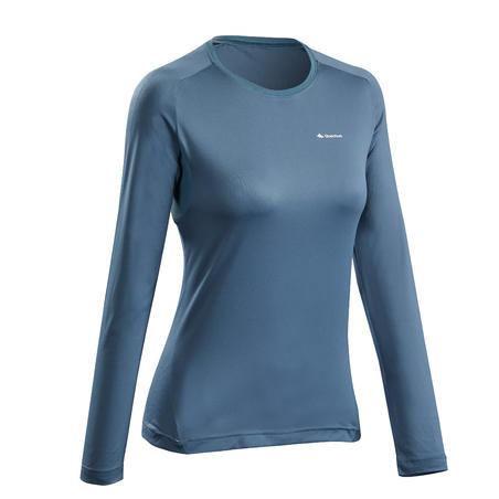 MH550 Long-Sleeved Mountain Hiking T-Shirt - Women