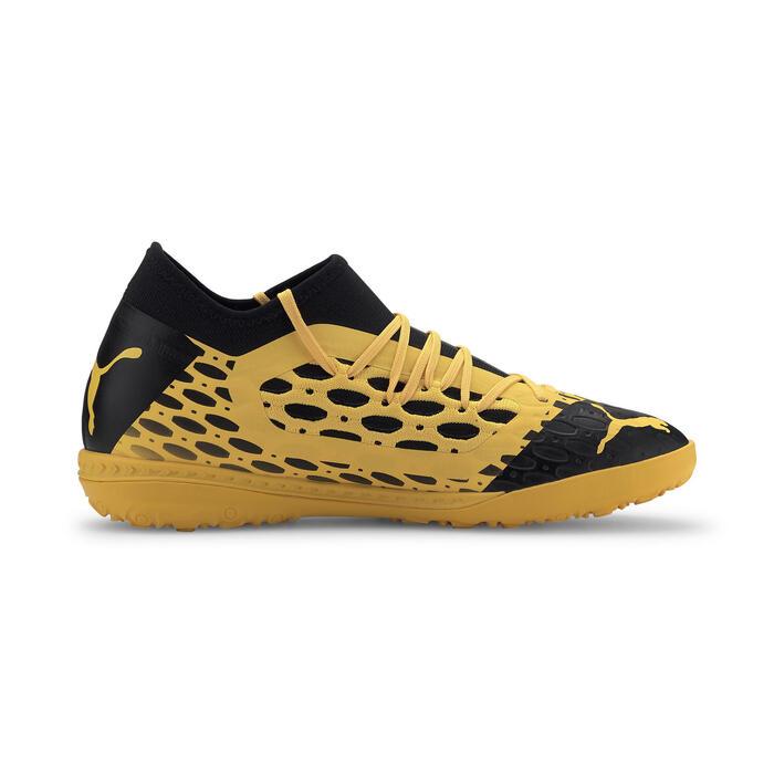 Voetbalschoenen Future 5.3 Netfit TT geel/zwart