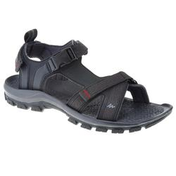 Men's ARPENAZ 100 hiking sandals, black