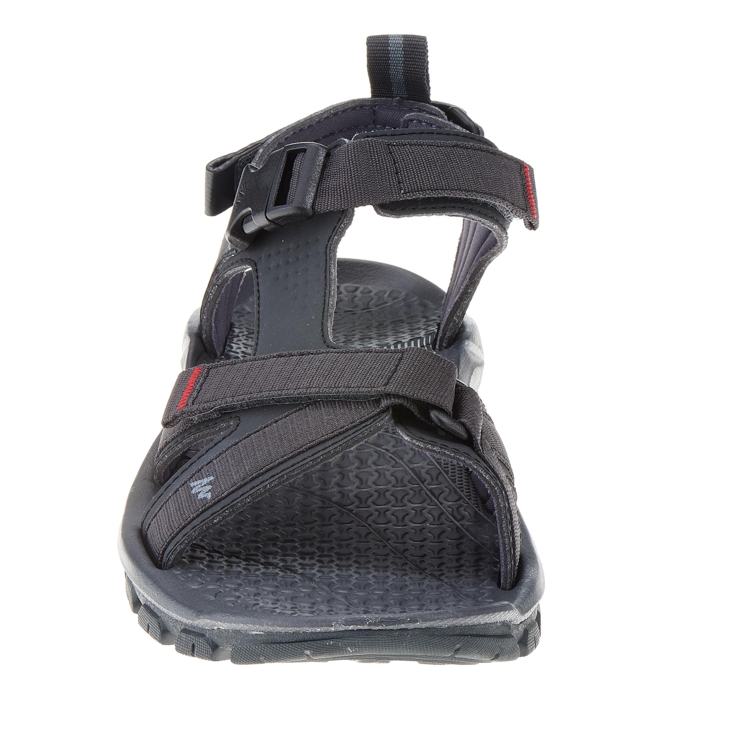 Sandales randonnée Arpenaz 100 homme noir
