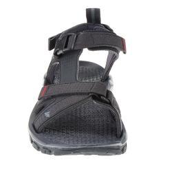 Sandalias de senderismo naturaleza NH110 negro hombre