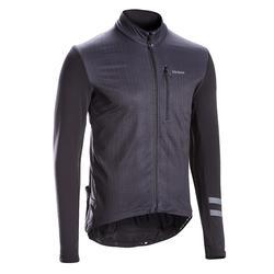 Fietsshirt met lange mouwen voor heren racefietsen RC500 zwart