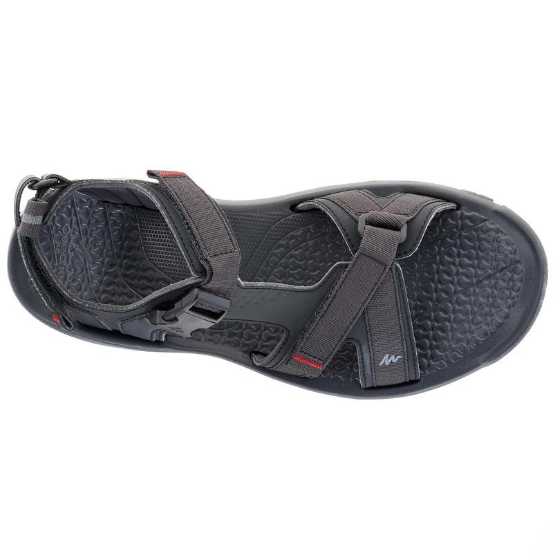 Sandalias de senderismo hombre Arpenaz 100 negras