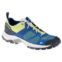 Chaussures de randonnée femme Forclaz 500 Fresh bleu foncé/vert anis