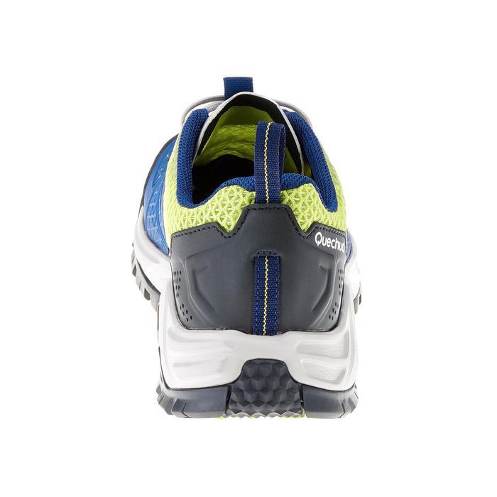 Wandelschoenen voor dames Forclaz 500 Fresh donkerblauw/anijsgroen - 180522