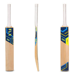 KW100 SIZES 3, 4, KASHMIR WILLOW CRICKET BAT DARK BLUE
