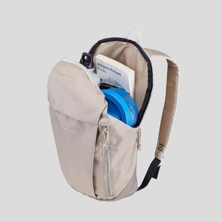 Рюкзак NH100 для туризму, 10л - Бежевий