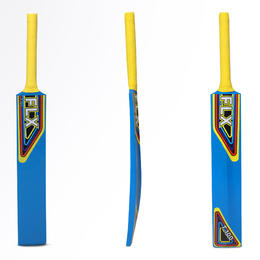 T100 NEW juniors beginners cricket bat, blue