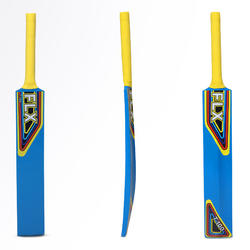 T100 SIZES 0, 1, 2, 3, POPLAR CRICKET BAT BLUE