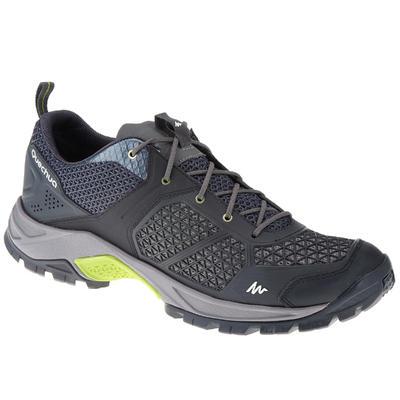 Чоловічі черевики NH500 Fresh для туризму - Чорні
