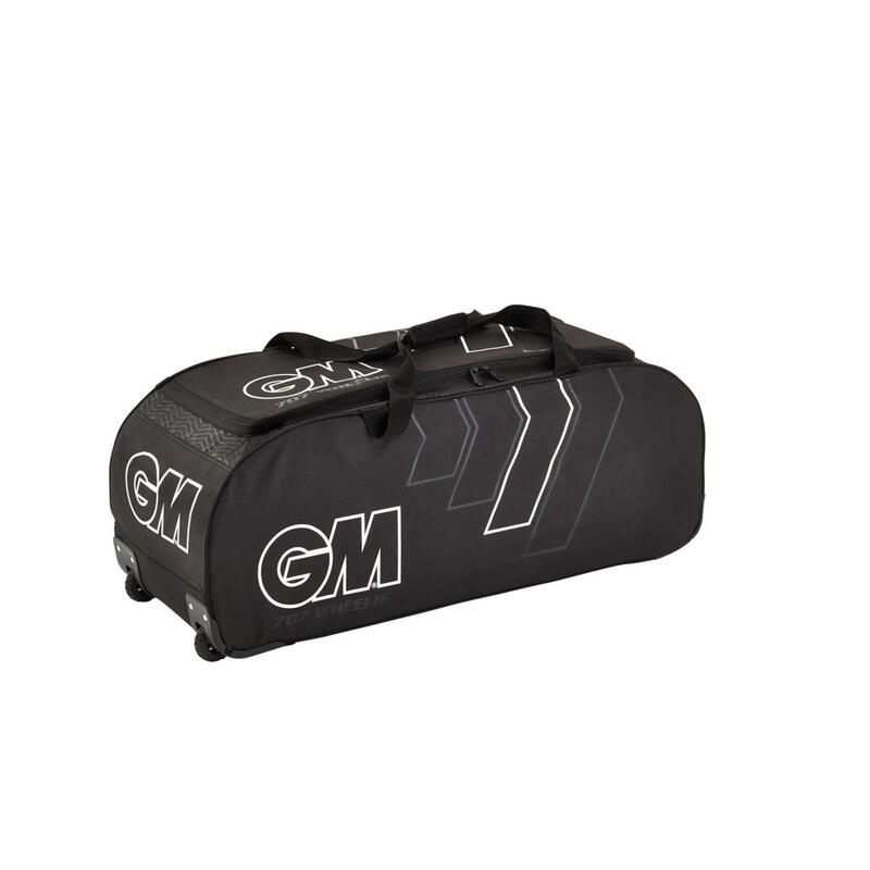 GM 707 Wheelie Cricket Bag Black
