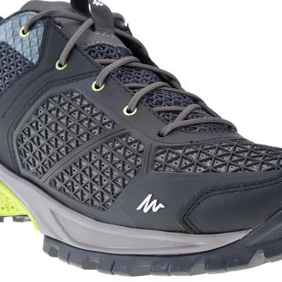 נעלי הליכה Fresh לטיולים בטבע דגם NH500 לגברים - שחור