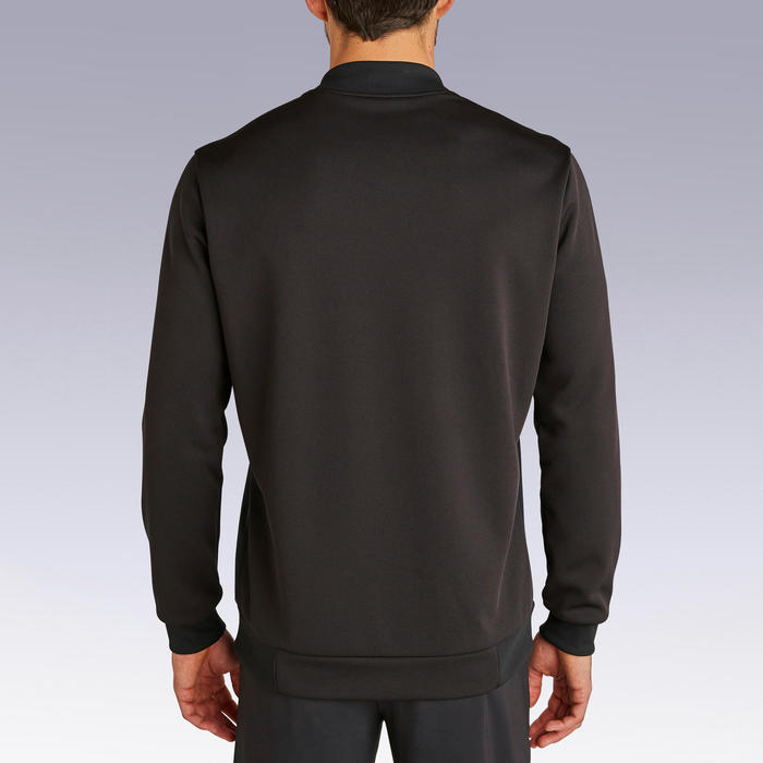 足球運動衫T100 - 黑色