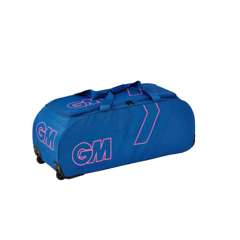 LEATHER BALL BEGINNER BAGS JR Bags - GM 707 Wheelie Bag Blue GUNN & MOORE - Bags