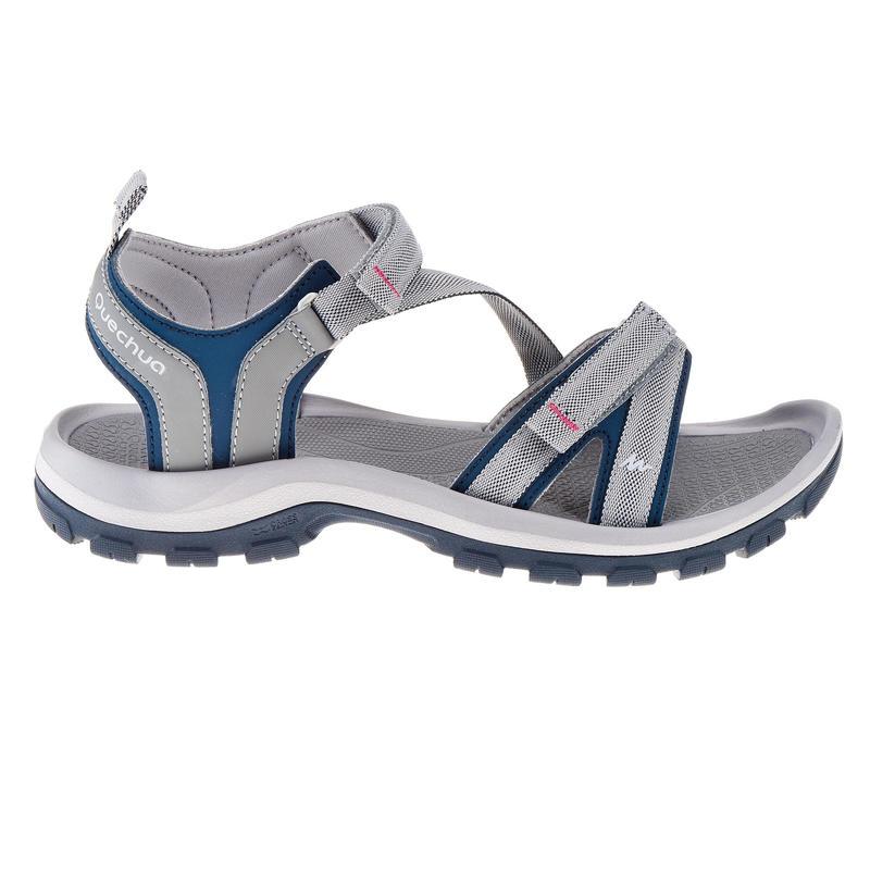 Women's Sandals NH110 - Grey & Blue