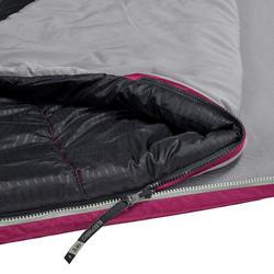 SLEEPIN BED MH500 - SAC DE COUCHAGE ET MATELAS 2 EN 1 - PRUNE - 15°C - L
