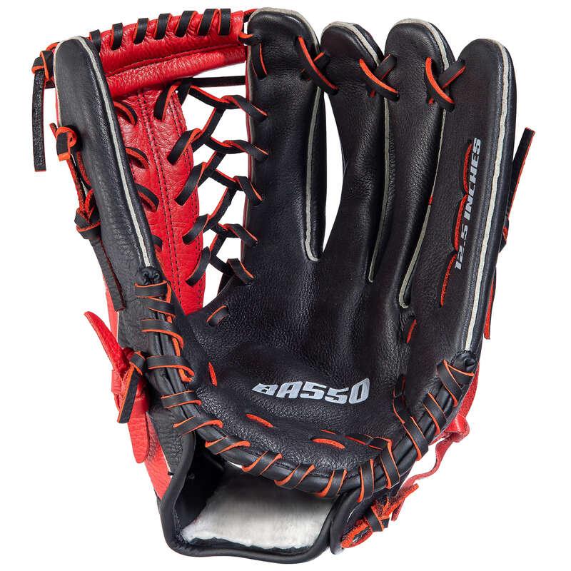 Baseball ütők és labdák USA csapatsportok, rögbi, floorball - Baseball kesztyű BA550 KIPSTA - Baseball