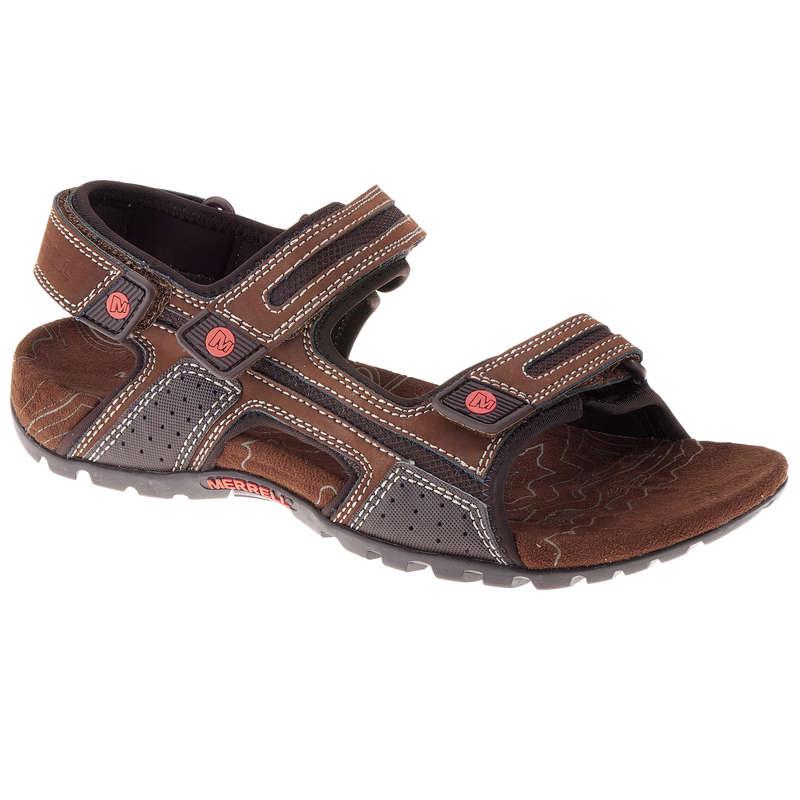 PÁNSKÉ SANDÁLY DO TEPLÉHO POČASÍ Turistika - PÁNSKÉ SANDÁLY SANDSPUR MERRELL - Turistická obuv