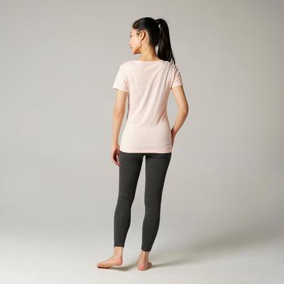 T-shirt Sportee 100% coton Femme Rose