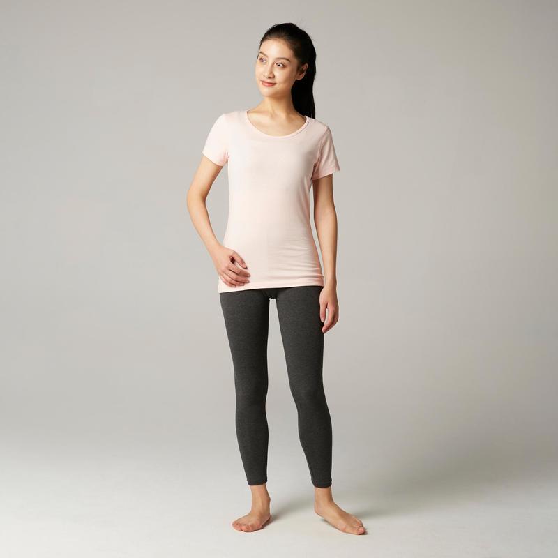 Women's 100% Cotton T-Shirt Sportee - Pink