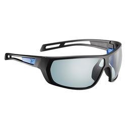 Zonnebril voor het hooggebergte met fotochromatisch glazen cat. 2->4 Alpi zwart