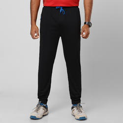 NEW MEN'S SLIM FIT CRICKET TRACKPANTS TPR 500, BLACK