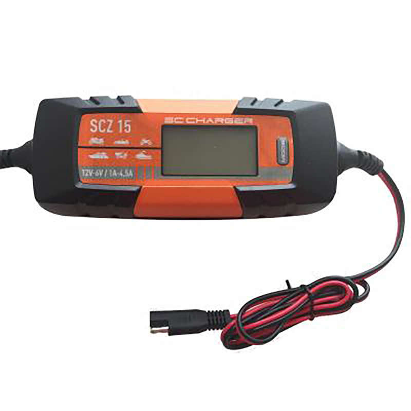 BOATS, ENGINES, BATTERIES Travel Electronics - FISHING BATTERY CHARGER SCZ15 ENERGIE MARINE - Travel Electronics