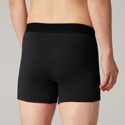Boxer Sport homme en coton noir