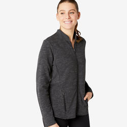 Veste Training Femme Freemove Gris Chiné