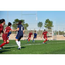 Short de football femme F900 rouge bordeaux