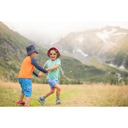Short de randonnée - MH500 KID bleu - enfant 2-6 ANS