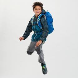 Veste imperméable de randonnée - MH150 verte - enfant